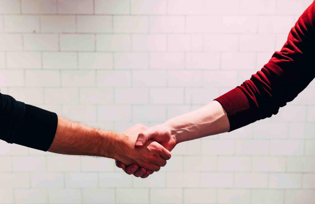 パートナー会社さんと初の契約締結