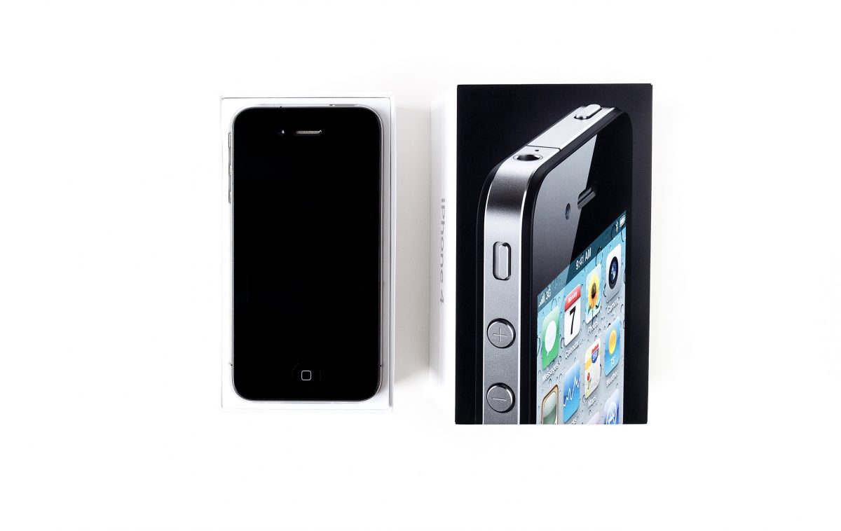 会社携帯iPhone4購入とiPad