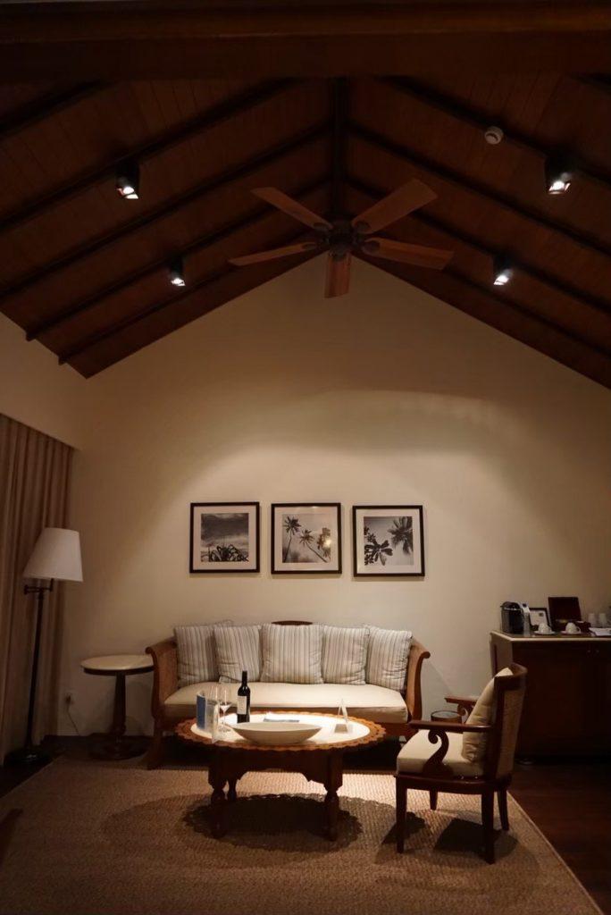 モルディブの部屋