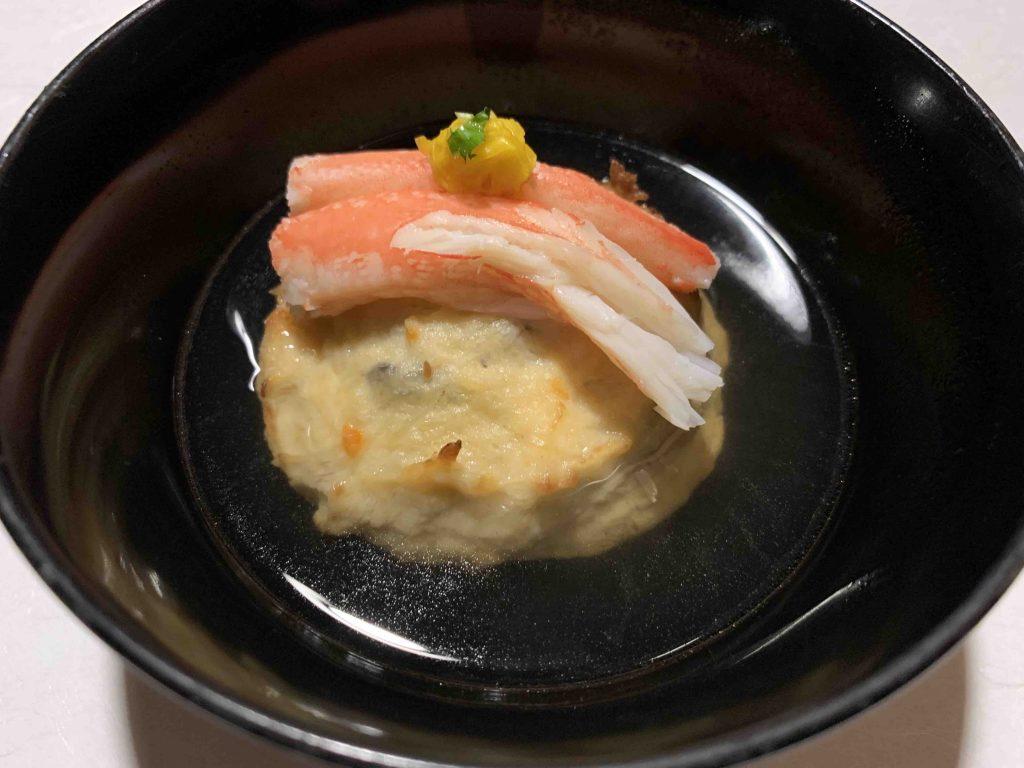 星野リゾート「界」鬼怒川 夕食 煮物椀